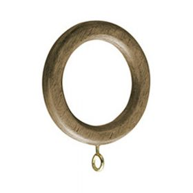"Zen 1 3/8"" Wood Rings~Each - Drapery Hardware"