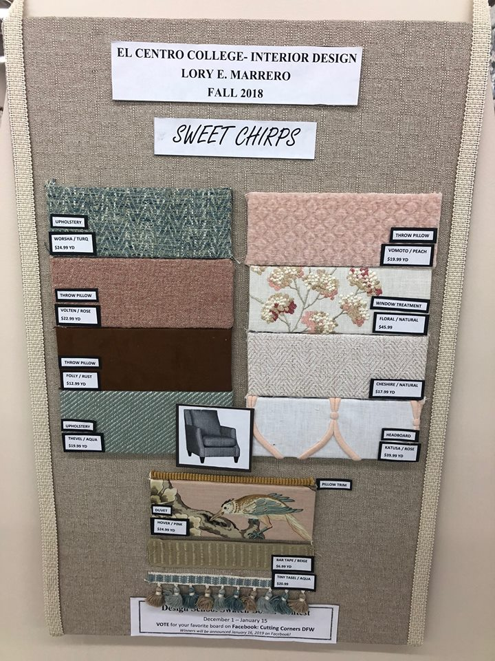 Interior Design Students Show Their Style In Contest Fabric Resource